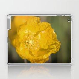 Yellow Poppy Laptop & iPad Skin