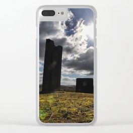 Steel Henge Clear iPhone Case