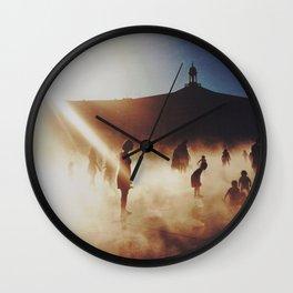Miroir d'eau Wall Clock