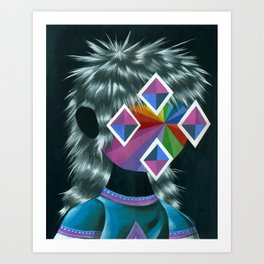 Beautiful Dreamer Sylvestre Art Print
