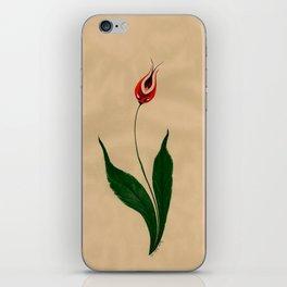 Lonely Tulip iPhone Skin