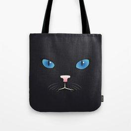Little black cat Tote Bag