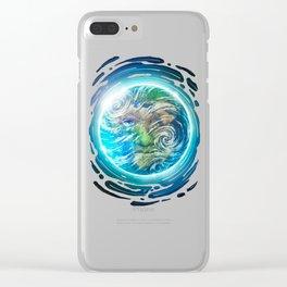 Earth II Clear iPhone Case