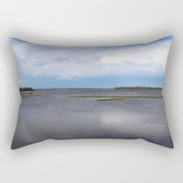 White Oak River Rectangular Pillow