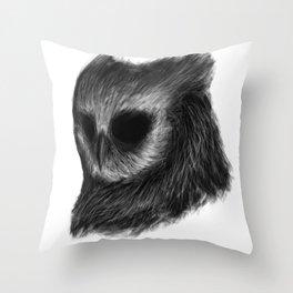 Totem of Wisdom Throw Pillow