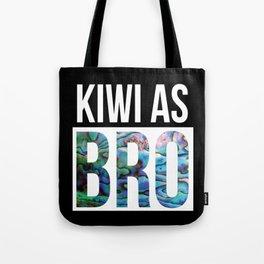 KIWI AS BRO NEW ZEALAND Tote Bag