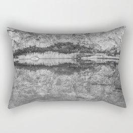 B&W reflection Rectangular Pillow