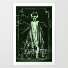The Monster's Bride Art Print