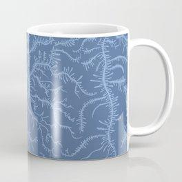 Ferning - Blue Coffee Mug