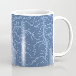 Ferning - Blue Coffee Mug