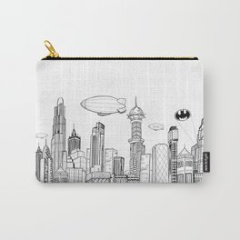 Gotham City Skyline Carry-All Pouch