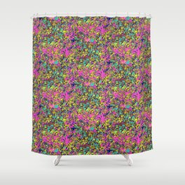 Laguna de los Lagartos Shower Curtain