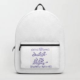 sodmite is my birthstone Backpack