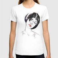 mod T-shirts featuring Mod Girl by Erin Garey