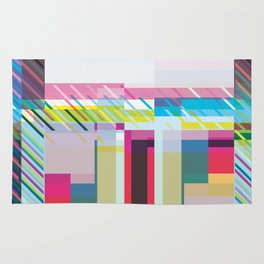 Even More Abstract Squares Rug