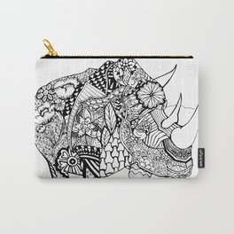"""""""Color Therapy"""" Rhino Carry-All Pouch"""