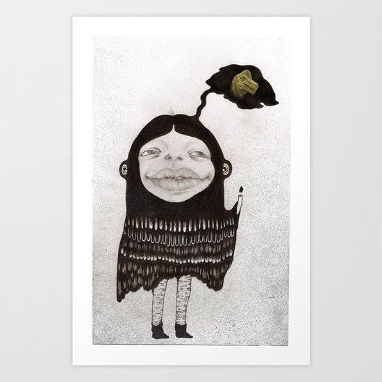 Dino Dreams Art Print