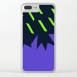 Acid rain on volcanic landscape Clear iPhone Case