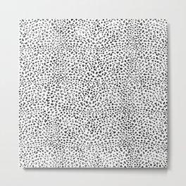 Animal Pattern Leopard Metal Print