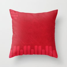 Kortedala original artwork by Det mekaniska undret Throw Pillow