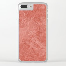 Stone Texture Surface 17 Clear iPhone Case