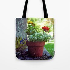 Cemetery plant Tote Bag