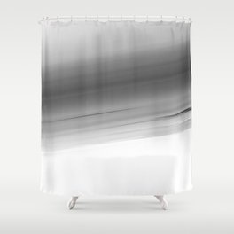 Gray Smooth Ombre Shower Curtain