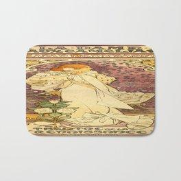 Vintage poster - La Dame Aux Camelias Bath Mat