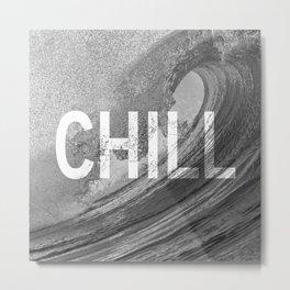 Chill Waves Metal Print