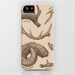 Antlers iPhone Case