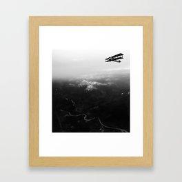 Vintage Plane Framed Art Print