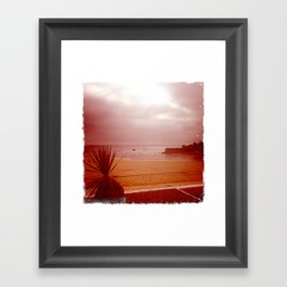 By the bay Framed Art Print