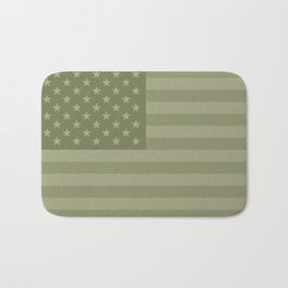 Camo Stars and Stripes – USA Flag in Military Camouflage Colors [FalseFlag 1] Bath Mat