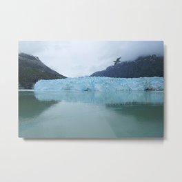 Glacier Bay National Park Margerie Glacier Alaska Metal Print