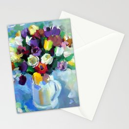 Still LIfe with Tulips Stationery Cards