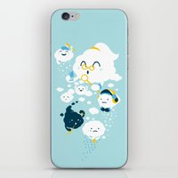 family iPhone & iPod Skins featuring family by Steven Toang
