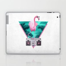 Miami Flamingo Laptop & iPad Skin