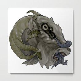 Squid... Goat? Metal Print