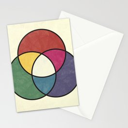 Matthew Luckiesh: The Additive Method of Mixing Colors (1921), vintage re-make Stationery Cards