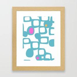 Futura #society6 #pattern #buyart Framed Art Print