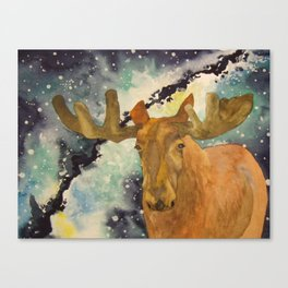Full Moose Canvas Print