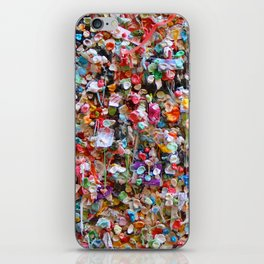 Gum Wall iPhone Skin
