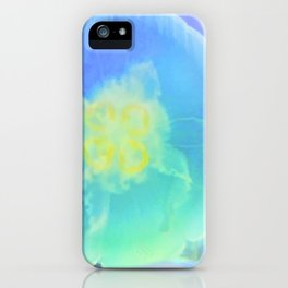Blue Moon Jelly Fish iPhone Case