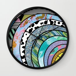 Indecisive Persona Wall Clock