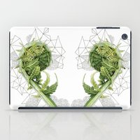 fern iPad Cases featuring Fern by Line Holtegaard