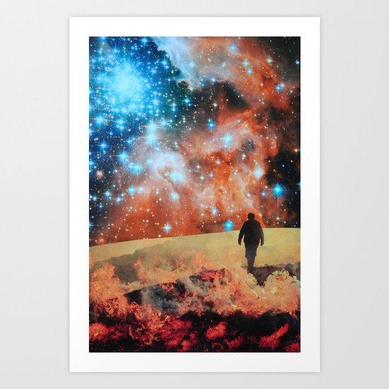 Starman Art Print