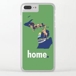 Michigan Proud Clear iPhone Case
