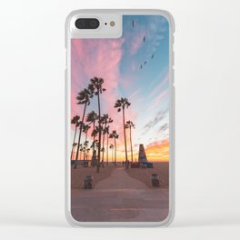 Venice Beach Nature's Fireworks Clear iPhone Case