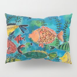 Fish Are Friends Pillow Sham