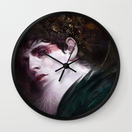 BBC Merlin: Raven Child Wall Clock